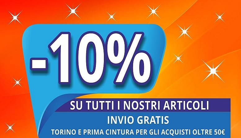 promozione - 10%