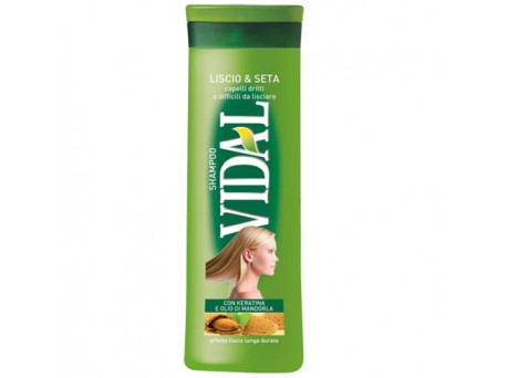 Vidal shampoo liscio e seta 250ml