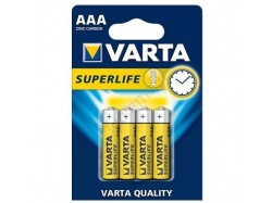 Varta batterie mini stilo AAA 4 pz