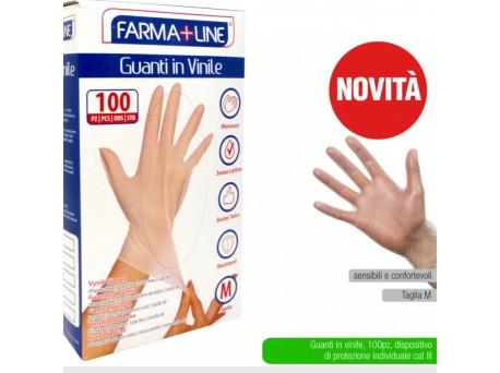 Farmaline guanti monouso vinile M