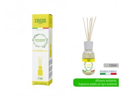 Irge diffusore ambiente citronella 125ml