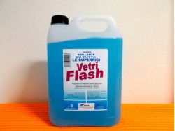 DETERGENTE VETRI E SUPERFICI VETRI FLASH 5 LT