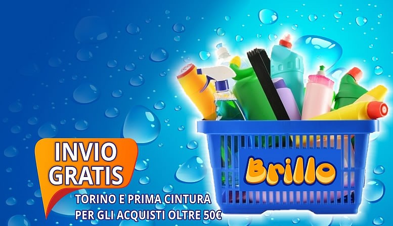 BRILLO SHOP UN MONDO DI VANTAGGI!