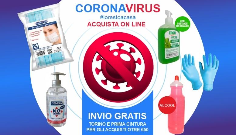 prodotti igiene coronavirus